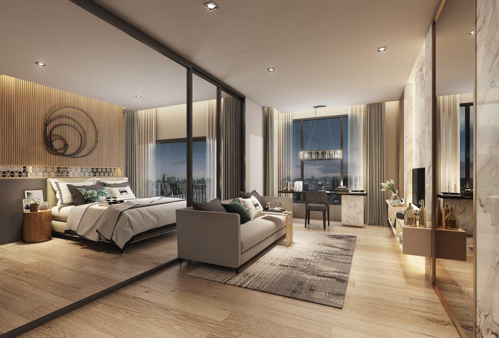 Type 1 Bedroom (34.9sq.m)